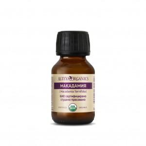 Bio organic macadamia nut oil Alteya Organics
