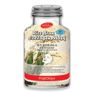 Rice bran collagen face mask Purederm