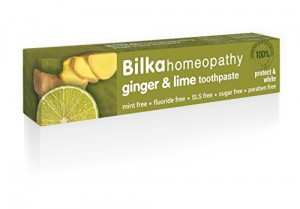 Homeopathic toothpaste with ginger and lime Bilka Homeopathy