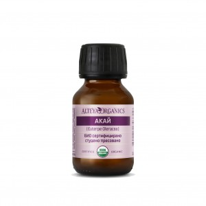 Bio organic açaí vegetable oil Alteya Organics