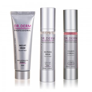 Bundle for mature, sensitive and dry skin Dr. Derm Professional