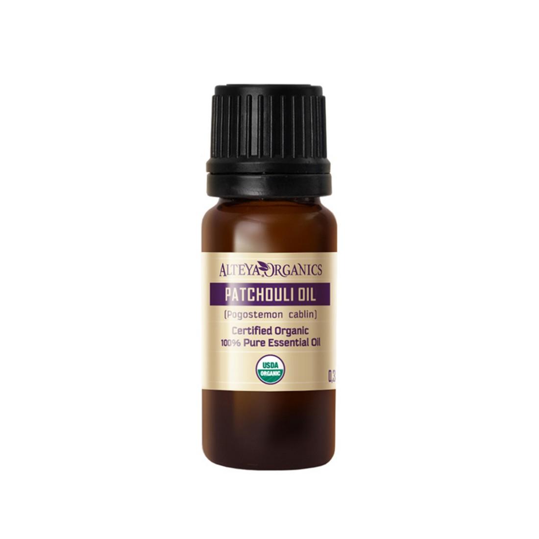 Bio organic patchouli essential oil Alteya Organics 10 ml.