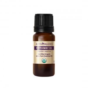 Bio organic peppermint essential oil Alteya Organics 10 ml.
