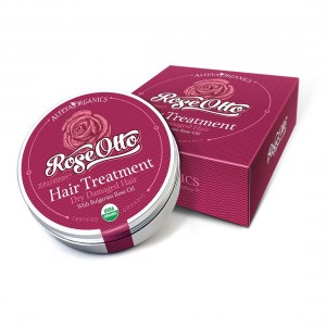 Bio organic hair balm with Bulgarian rose oil Alteya Organics