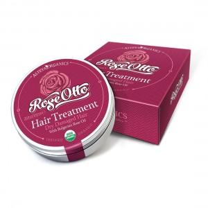 Bio organic hair balm with Bulgarian rose oil 100 ml. Alteya Organics