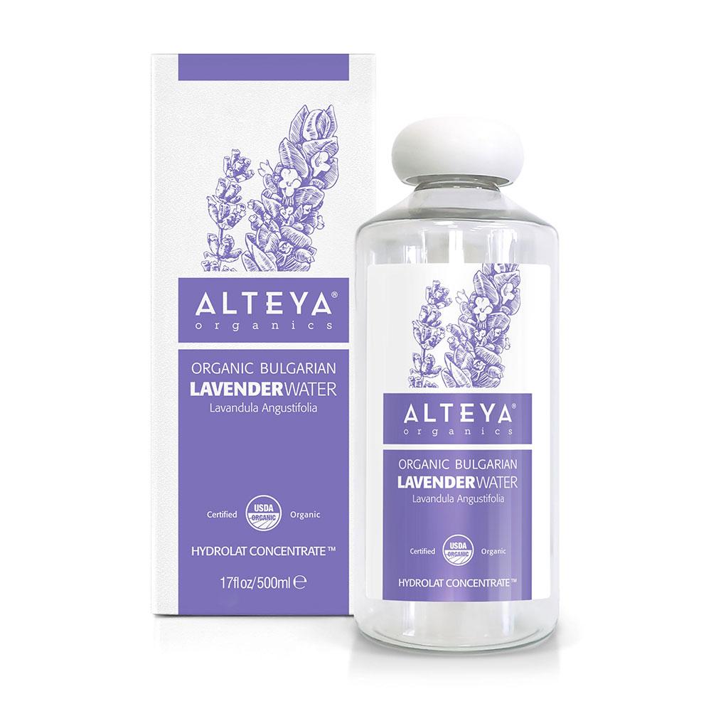 Bio organic Bulgarian lavender water 500 ml. Alteya Organics
