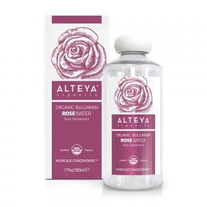 Bio organic rose water Bulgarian Rosa Damascena 500 ml. Alteya Organics
