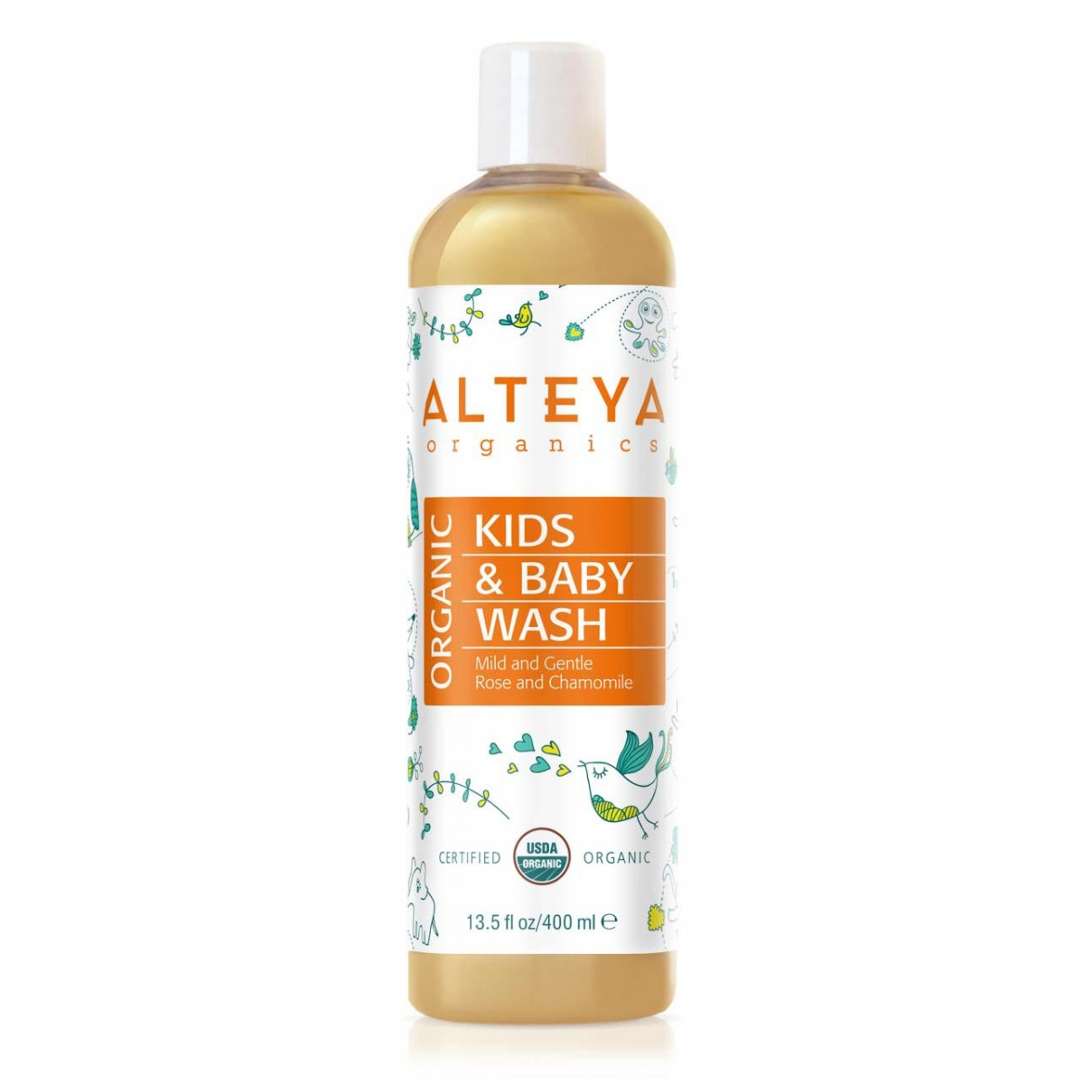 Bio organic baby wash 400 ml. Alteya Organics