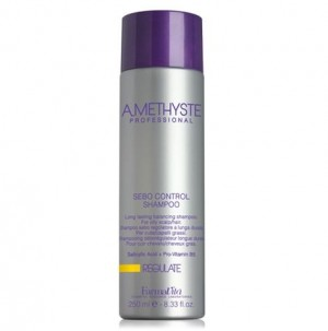 Shampoo for oily hair with a lasting balancing effect Amethyste Farmavita