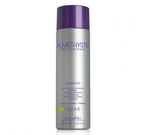 Volumizing and hair thickening shampoo Amethyste Farmavita