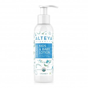 Bio organic baby body lotion Alteya Organics
