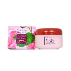 Маска за коса с розова вода Rose of Bulgaria Biofresh