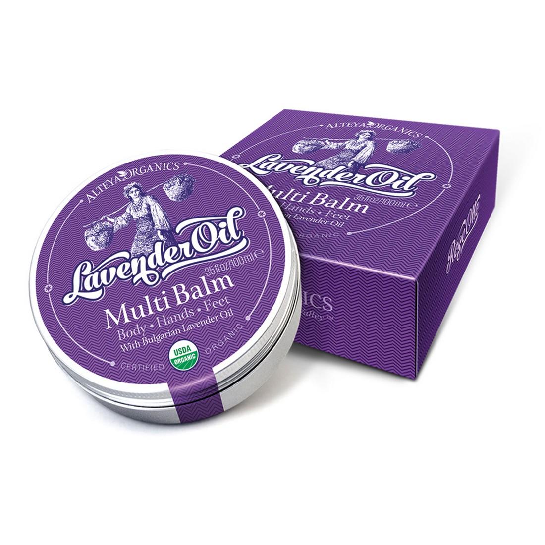 Bio оrganic universal balm with lavender 100 ml. Alteya Organics