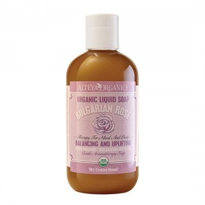 Bio organic liquid soap for hands and body with Bulgarian rose oil Alteya Organics
