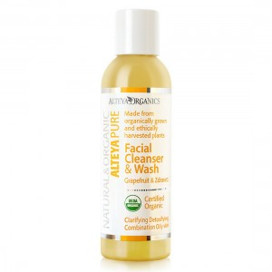 Bio organic facial washing gel with grapefruit and geranium Alteya Organics