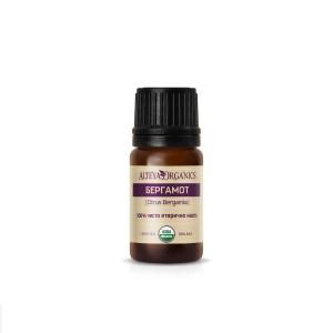 Bio organic bergamot essential oil Alteya Organics