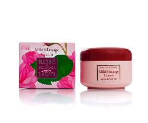 Massage cream with rose water Rose of Bulgaria Biofresh