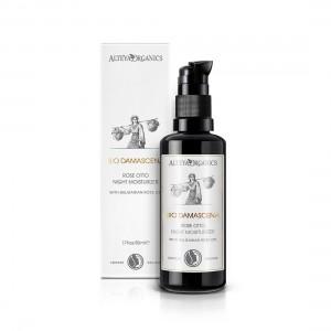 Bio organic night moisturizer for face Bio Damascena Alteya Organics