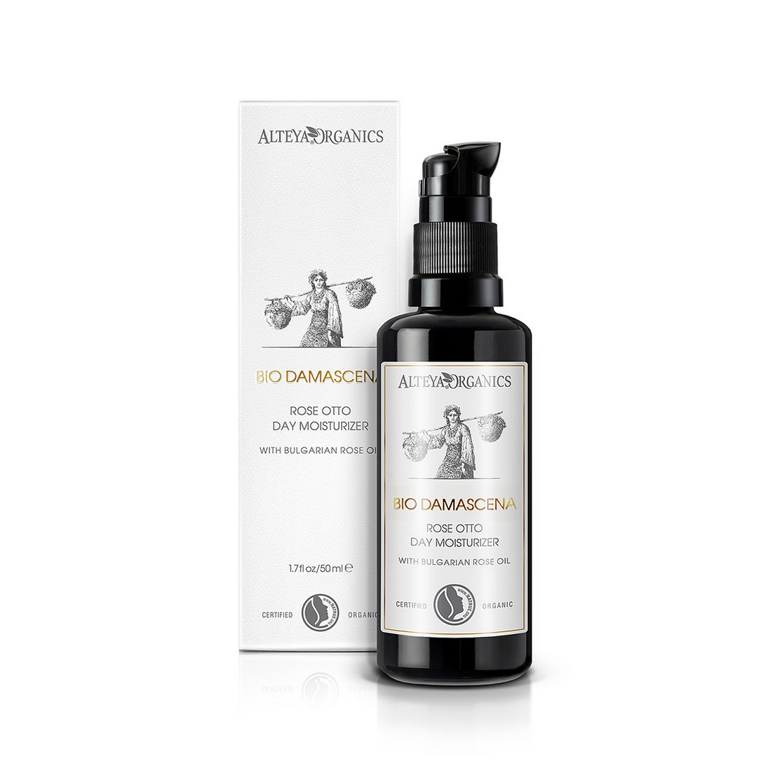 Bio organic day moisturizer for face Bio Damascena Alteya Organics
