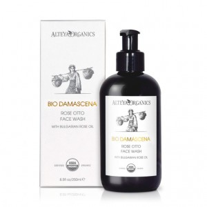 Bio organic facial washing gel Bio Damascena Alteya Organics