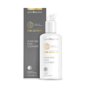 Bio organic facial washing gel with rose and jasmine Alteya Organics