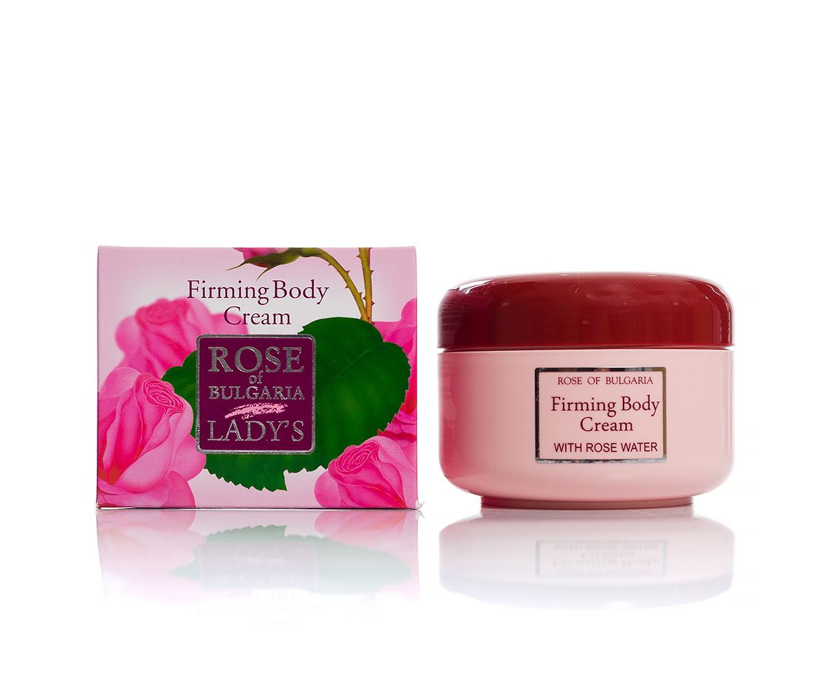 Firming body cream with rose water Rose of Bulgaria Biofresh