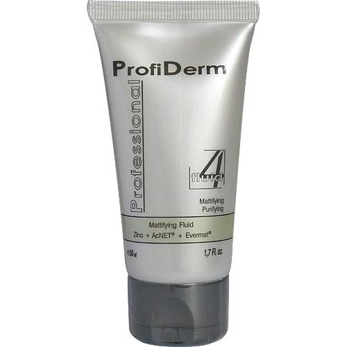 Firming facial matting fluid ProfiDerm Professional