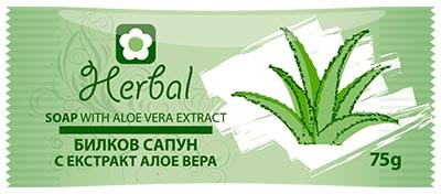 Natural herbal soap with aloe vera extract Herbal Biofresh