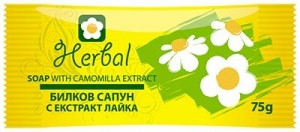 Natural herbal soap with chamomile extract Herbal Biofresh