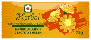 Natural herbal soap with calendula extract Herbal Biofresh