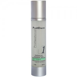 Soft cleansing and tightening facial foam ProfiDerm Professional