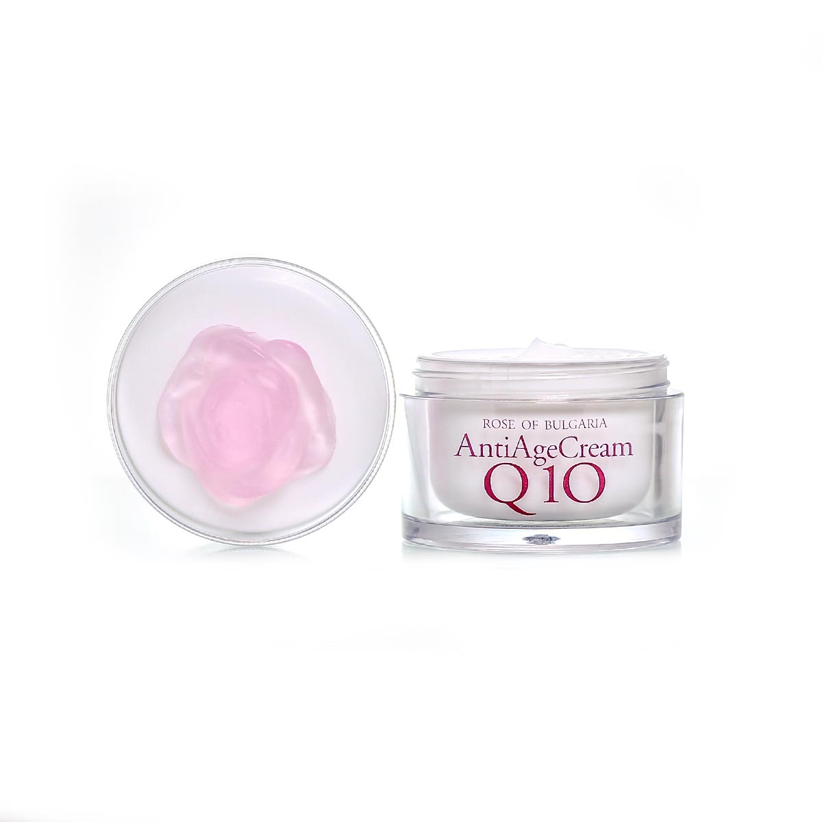Rejuvenating face cream with rose water and Q10 Rose of Bulgaria Biofresh