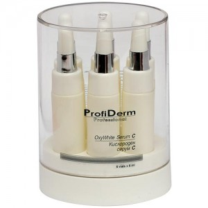 Face serum enriched with vitamin C and oxygen  ProfiDerm Professional