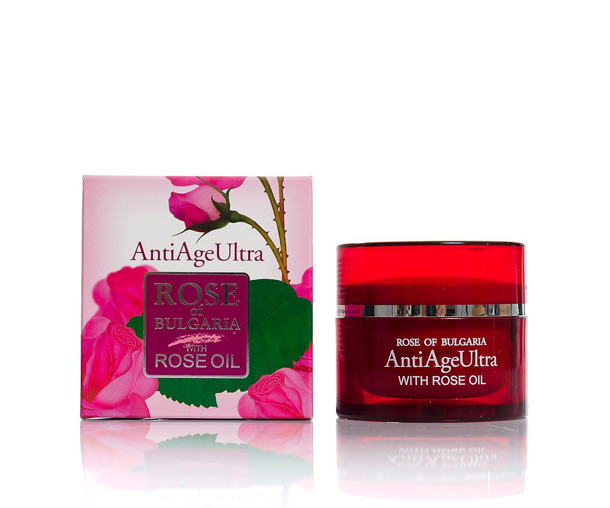 Rejuvenating face cream AntiAge Ultra Rose of Bulgaria Biofresh