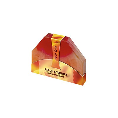 Natural glycerin soap with peach kernel oil and yoghurt Biofresh