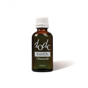 Organic baby massage oil with chamomile extract Dodo Ecomaat