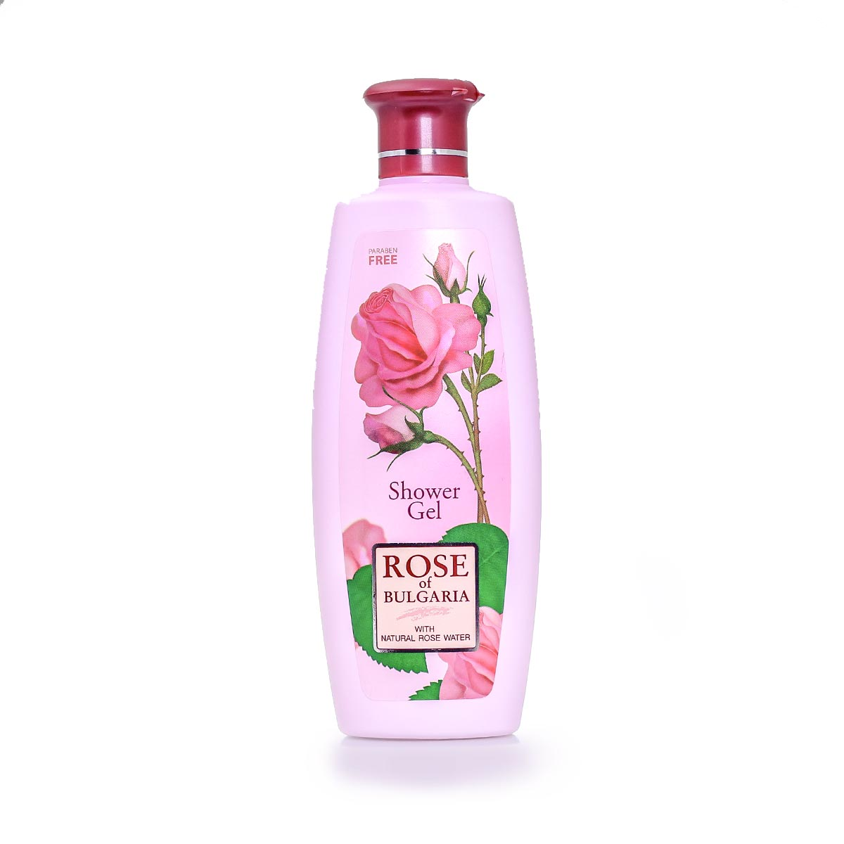 Душ гел за тяло с розова вода Rose of Bulgaria Biofresh