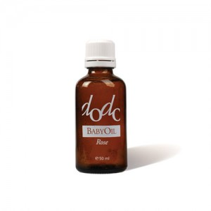 Organic baby massage oil with rose extract Dodo Ecomaat