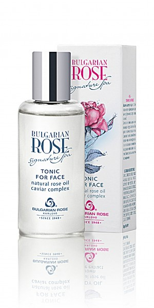 Refreshing tonic for face Signature Spa Bulgarian Rose Karlovo