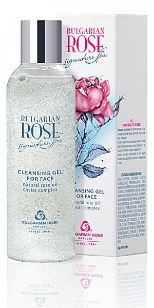 Cleansing and moisturizing gel for face Signature Spa Bulgarian Rose Karlovo
