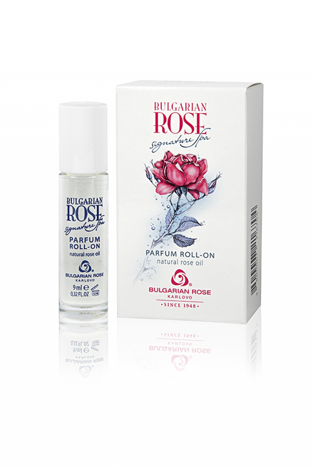 Roll-on perfume with rose and exotic fruits Signature Spa Bulgarian Rose Karlovo