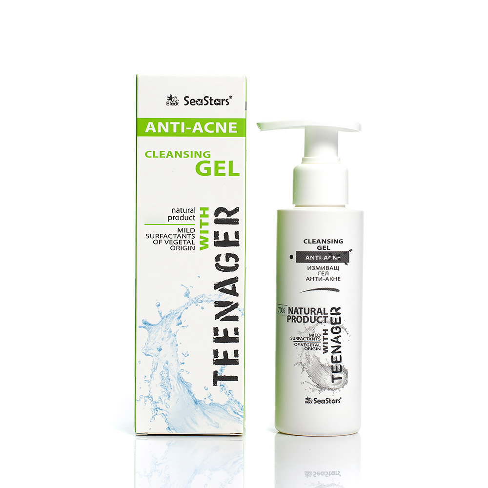 Anti-acne cleansing gel Teenager Seastars