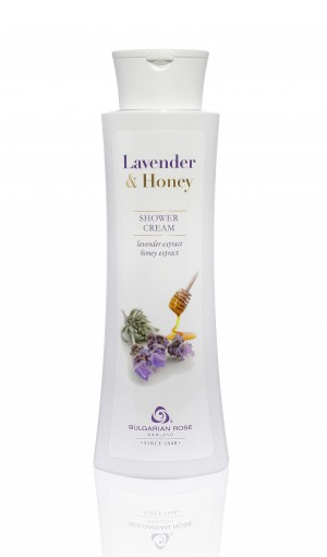 Shower cream Lavender and Honey Bulgarian Rose Karlovo