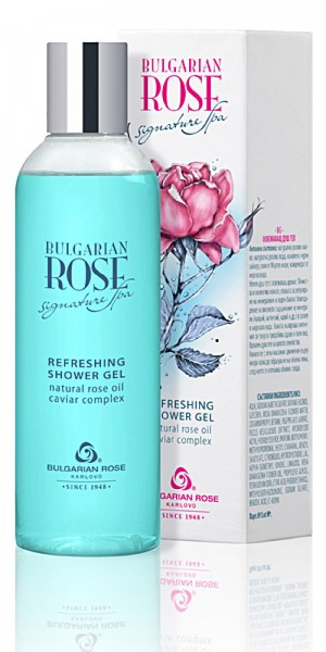 Refreshing shower gel Signature spa Bulgarian rose Karlovo