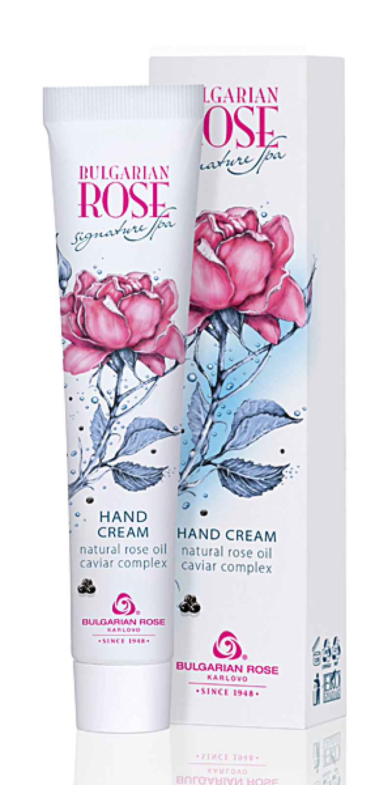 Nourishing hand cream Signature Spa Bulgarian Rose Karlovo