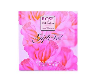 Lady's gift set with perfume and soap Rose of Bulgaria Biofresh