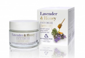 Face cream Lavender and Honey Bulgarian Rose Karlovo