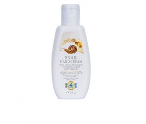 Hand cream with garden snail extract Golden Snail