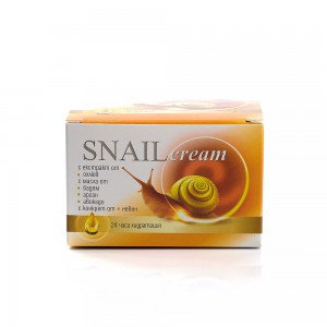 Regenerating face cream with garden snail extract Golden Snail