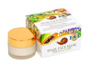 Regenerating facial mask with garden snail extract Golden Snail